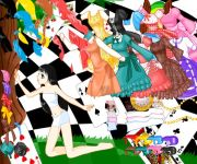 Alice in Wonderland Dress Up gra online