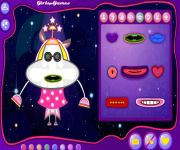 Alien Flurry Dress Up gra online