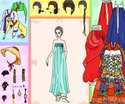 Asian Tradition Dress Up gra online