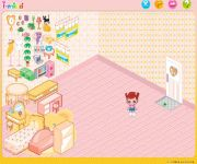 Baby Doll House Décor gra online