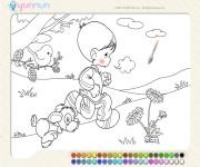 Boy Painting gra online