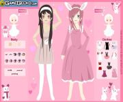 Bunny Girls Dress Up gra online