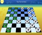 Checkers Board gra online