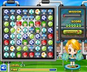 Cheerleader Puzzle gra online