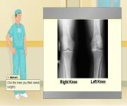 Chirurg - operacja kolana gra online