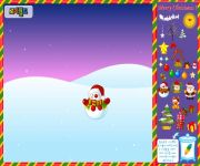 Christmas Snowworld Decoration gra online