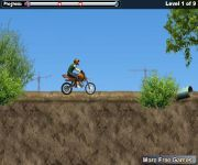 Construction Yard Bike gra online
