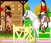 Cowgirl Dress Up gra online