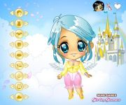 Cute Little Angel Dress Up gra online