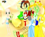 Disney Princess Dress Up 3 gra online