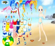 Doll Beach Dress Up gra online