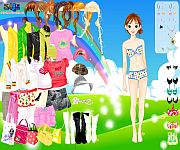 Dress up gra online