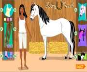 Dressup horse game gra online