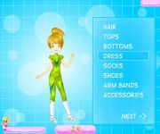 Fantasy Tennis Dress Up gra online