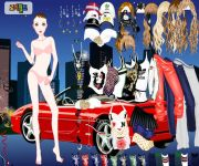 Ferrari Night Dress Up gra online