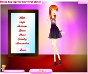 First Date Couple Dress Up gra online