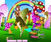 Floating Fairy Dress Up gra online