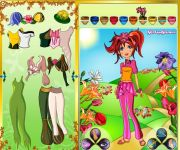Flower of Spring Dress Up gra online