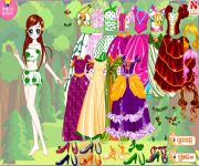 Forest Princess Dress Up gra online