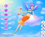 Funky Angel Dress Up gra online