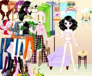 Funky Cool Dress Up gra online