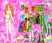 Ginger Star Dress Up gra online
