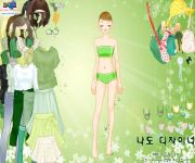 Green Life Dress Up gra online