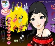 Halloween Dress Up 3 gra online