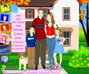 Happy Family Dress Up gra online