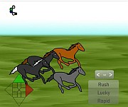 Horse racing gra online