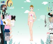 Icy Dress Up gra online