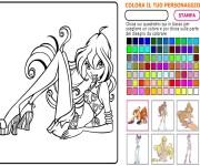 Kolorowanka Winx gra online