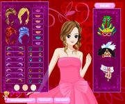 Masquerade Girl Dress Up gra online