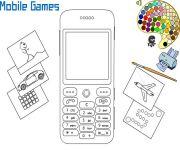 Mobile Phone Coloring gra online