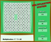 Multiplication gra online