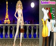 Paris Tourist Dress Up gra online