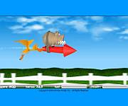 Pig on the rocket gra online
