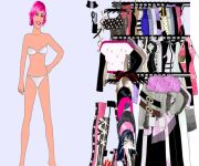 Pink Dress Up gra online