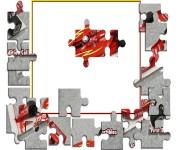 Puzzle z Formuła 500 gra online