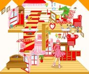 Red Dollhouse Make Over gra online