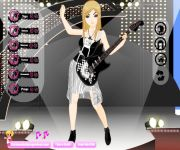 Rock Girl Dress Up gra online