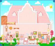 Różowy Domek dla Lalek 3 gra online