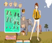 Safari Dress Up gra online