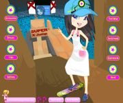 Skatergirl Kimmi Dress up gra online