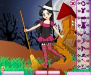 Student Witch Dress Up gra online