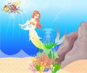 Syrenka i jej swiat gra online
