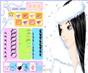Winter Girl Make Up gra online