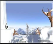 Yeti Sport - trampolina gra online