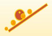 Balansuj piłeczkami gra online