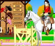 Cowgirl Dress Up gra online
